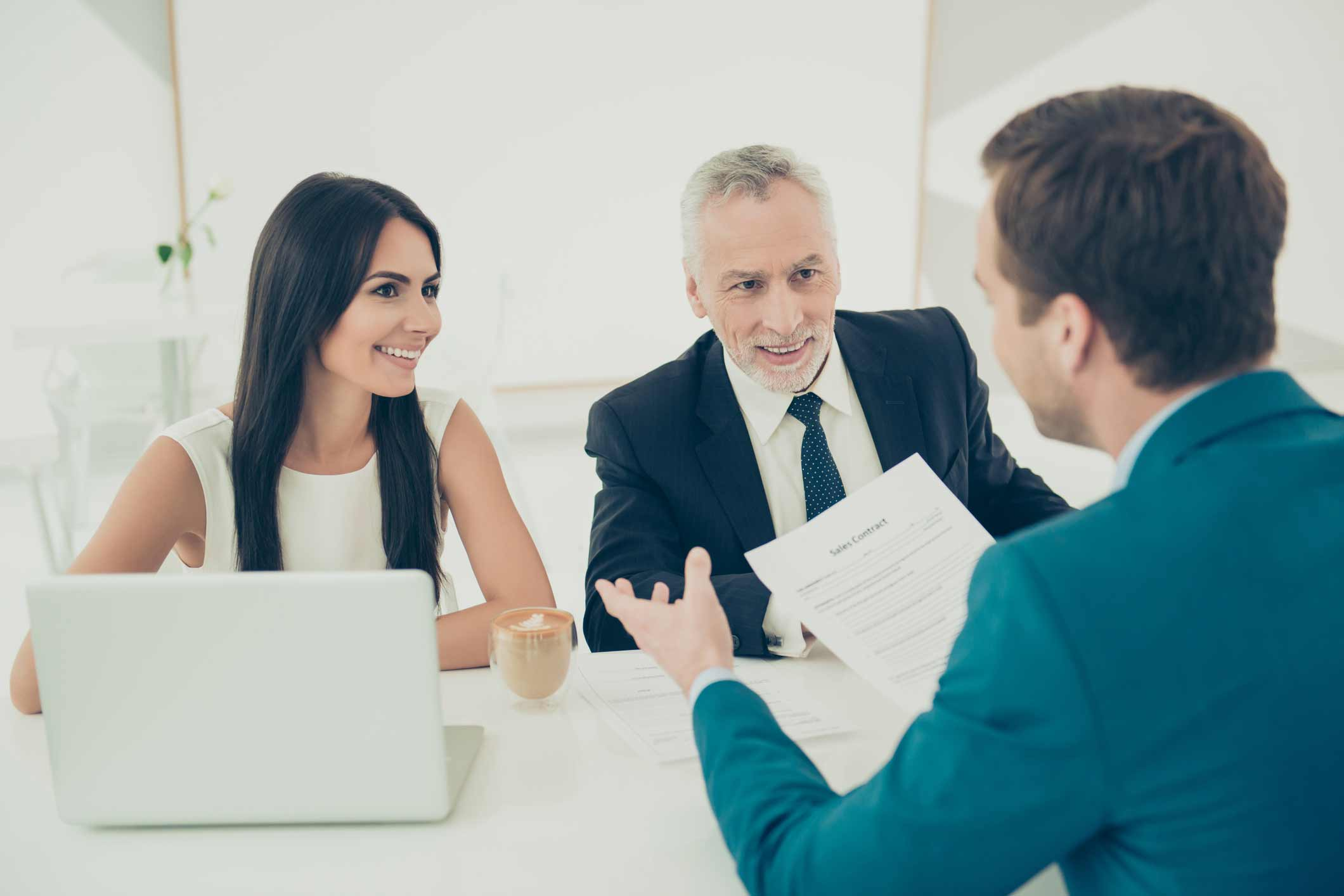 Clients Consulting a Legal Consultation Advisor